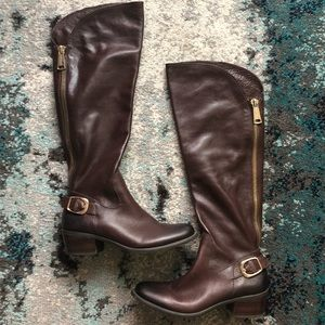 Vince Camuto Women's Brown Over The Knee Boots